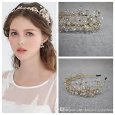 clasp tiaras hair accessories crystal