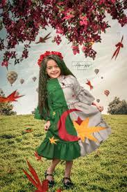 علم الجزائر على ثوب طفلة خلفيات علم الجزائر بدقة عالية صور اعلام