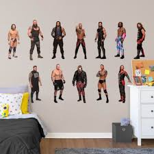 Wwe Logo Giant Officially Licensed Wwe Removable Wall Decal Wall Decal Shop Fathead For Wwe Decor In 2020 Wwe Bedroom Decor Wwe Removable Wall Decals