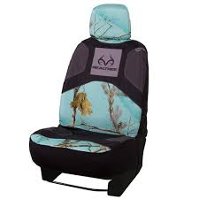 realtree mint camo low back bucket seat