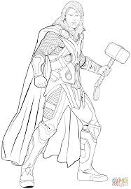 Thor Ragnarok Coloring Pages at GetDrawings