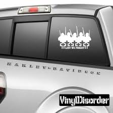 Fallen Soldiers Lest We Forget Decal