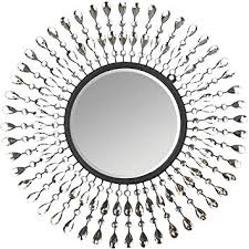 pearl drop wall mirror