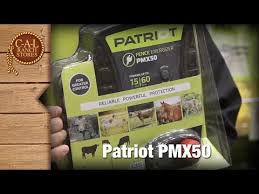 Patriot Pmx50 Electric Fence Charger Youtube