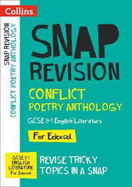 conflict poetry anthology collins gcse