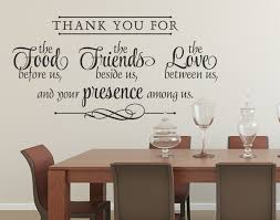 Bless The Food Before Us Bless The Food Before Us Wall Decal