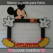 Marco Gigante Para Fotos De Mickey Mickey Cumpleanos Decoracion