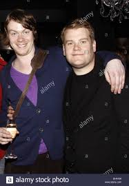 Daniel Rigby and James Corden Party celebrating first Broadway ...