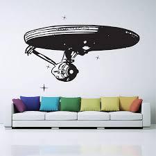 Star Trek Enterprise Spaceship Vinyl Wall Art Decal