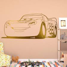 Lightning Mcqueen Wall Decal Kuarki Lifestyle Solutions