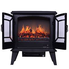 electric fireplace heater energy saving