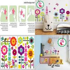 Floral Wall Stickers For Bedroom Girls Wall Sticker