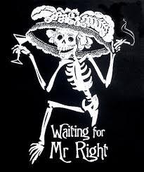 mr right skeleton skull t shirt ws6