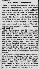 Priscilla King Stephenson obituary - Newspapers.com