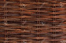 A Woven Willow Wicker Fence Panel Suitable For Crafts Picnic Stock Photo Picture And Royalty Free Image Image 14503128