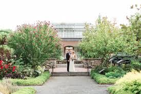 wedding at tower hill botanic garden