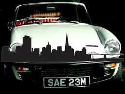 San Francisco Usa 2 Vinyl Wall Car Window Decal Fusion Decals