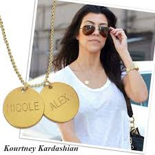 gold plated silver disc pendant
