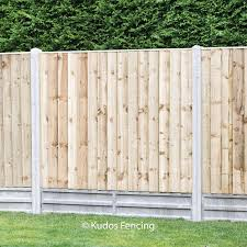 Closed Board Panels With Concrete Posts Gravel Boards Order Online