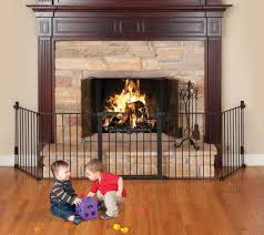 safety barriers for gas fireplaces help