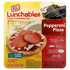 oscar mayer lunchables pizza pepperoni