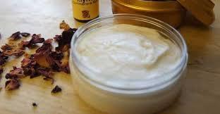 recipe of homemade beeswax face cream