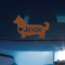 Corgi Dog Decal Corgi Car Decal Corgi Decal Corgi Sticker Decal Corgi Sticker Corgi Dog Puppy Time Dog Decals Corgi Dog