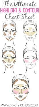 highlights contours makeup saubhaya