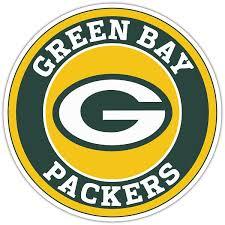 Green Bay Packers B Circle Vinyl Die Cut Decal 4 Sizes