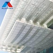 China Decorative Aluminum Sheet Metal Fence Metal Solid Panel For Garden China Aluminium Cladding Aluminium Wall Panels