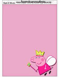 Peppa Pig Hada Invitaciones Para Imprimir Gratis Fiesta De