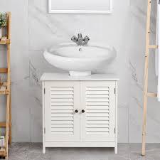wood under sink cabinet organizer free