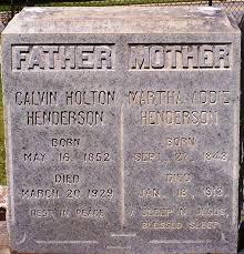 Calvin Holton Henderson (1852-1929) - Find A Grave Memorial