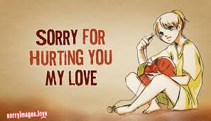 sorry my love quotes com