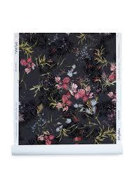 meadow wallpaper in ink kelly ventura