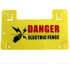 High Quality Warning Sign For Perimeter Electric Fence View Pp Materials Accident Warning Signs Tongher Product Details From Shenzhen Tongher Technology Co Ltd On Alibaba Com