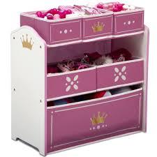 Disney Princess Multi Bin Toy Organizer Storage Girls Kids Boxes Bedroom For Sale Online Ebay