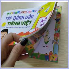 Tập đánh vần Tiếng Việt (100 Trang) - giành cho các bé mầm non ...