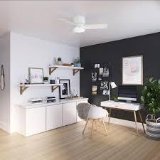 fresh white ceiling fan with light kit