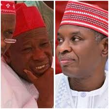 Image result for governor ganduje and abba gida gida