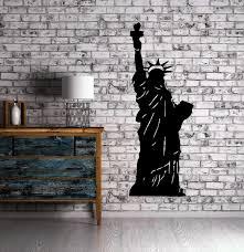 Statue Of Liberty New York City Decor Wall Art Mural Vinyl Decal Stick Wallstickers4you