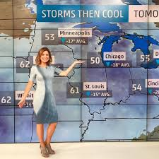 Hot Jen Carfagno forecasting weather on 'America's Morning Headquarters' |  Hottest weather girls, Girls stripping, The weather channel
