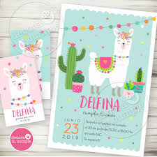 Kit Imprimible Llama Party Decora Tu Cumple