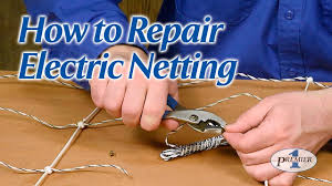 How To Repair Electric Netting Youtube