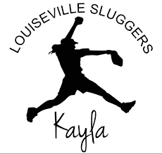 Girls Fastpitch Softball Player Pitcher Personalized Car Window Decal Vinyl Car Decal Wall Decal Laptop Decal Peel And Stick Vinyl Decals