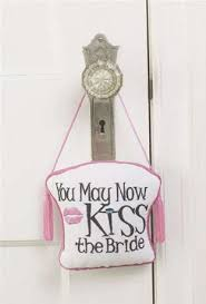 clearance honeymoon door hanger