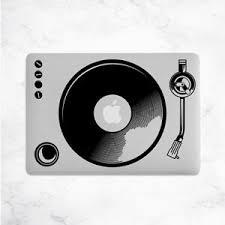 Turntable Decal For Macbook Pro Sticker Vinyl Laptop Mac Notebook Skin Dj Music Ebay