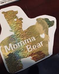 Cricut Access Challenge Momma Bear Car Decal Miss Rita To The Rescue