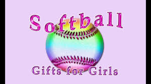 personalized softball gifts for s