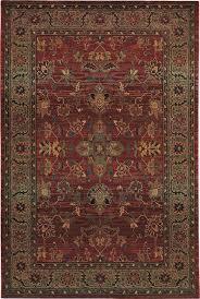 oriental weavers 836c4 red area rugs